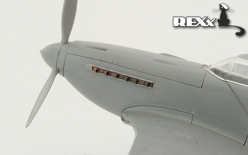 REXX 1/72 Yakovlev Yak-3 exhaust nozzles for Zvezda kit # 72001