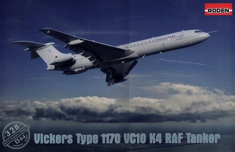 Roden 1/144 Vickers VC10 K4 # 328