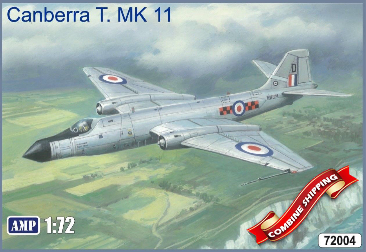 AMP 1/72 English Electric Canberra T. MK 11 # 72004