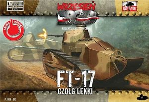 FTF 1/72 FTF-013 WWII Polish FT-17 Octagonal Turret w/Machine Gun # 013