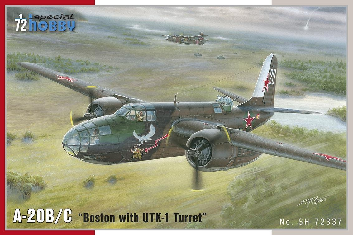 Special Hobby 1/72 A-20B/ C Boston with UTK-1 Turret # 72337
