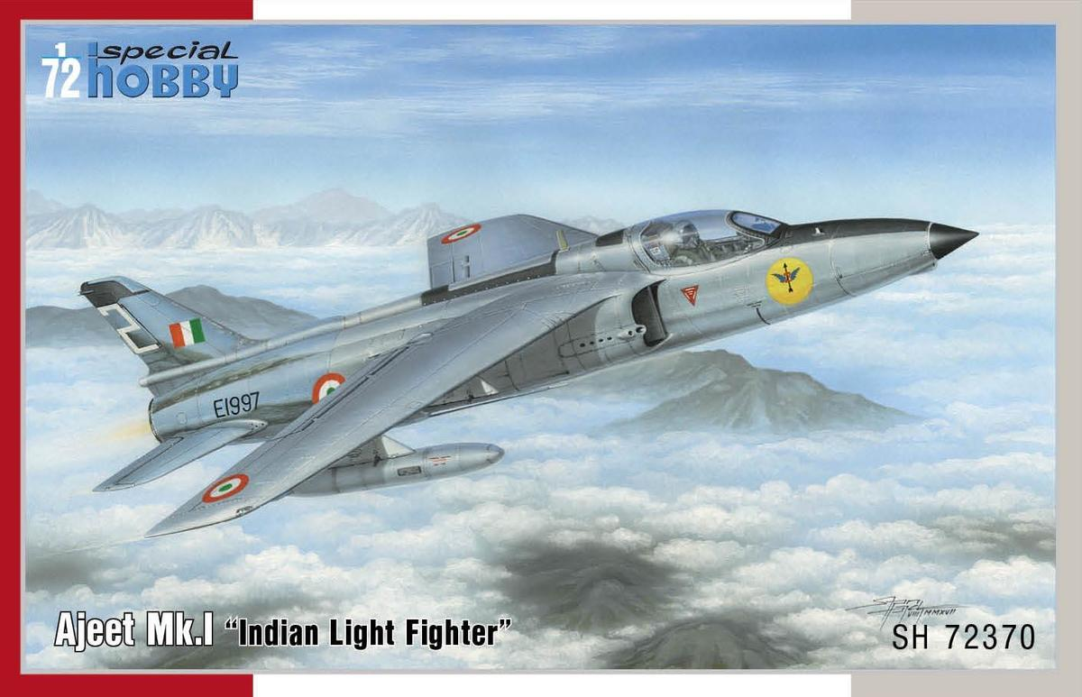 "Special Hobby 1/72 HAL Ajeet Mk. I ""Indian Light Fighter"" # SH72370"