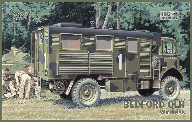 IBG 1/35 Bedford QLR Wireless # 35017