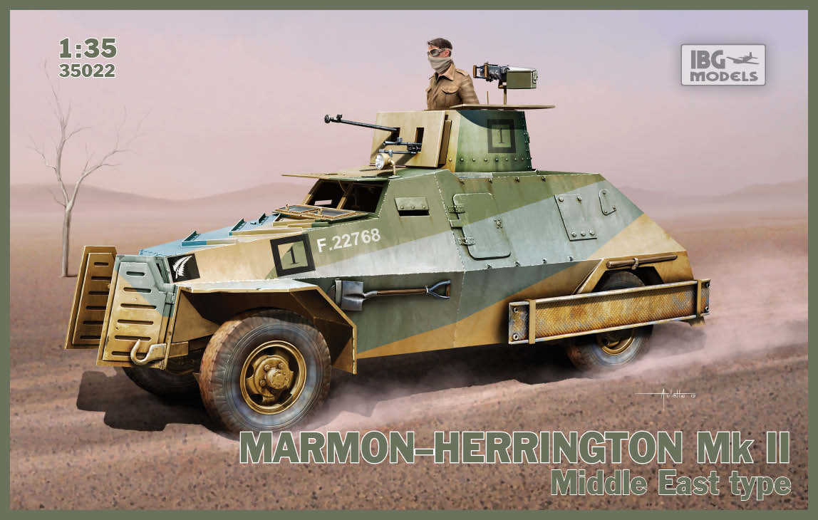 IBG 1/35 Marmon-Herrington Mk.II Middle East type # 35022