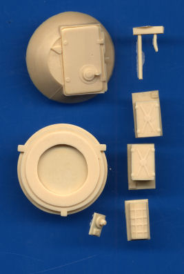 SP Design 1/35 1V18/19 (Darth Vader) conversion set for BTR-60 # 257