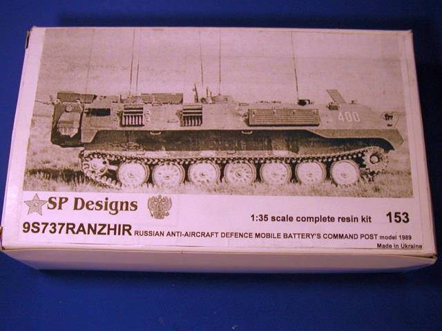 SP Design 1/35 9S737 Ranzir m1989 AA mobile battery command post # 153