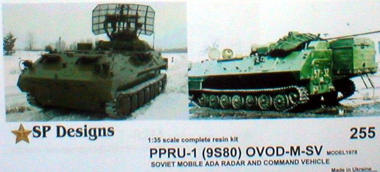 SP Design 1/35 OVOD-M-SV - Dog Ear, PPRU-1 reconnaissance and fire control vehicle # 255