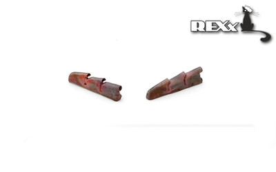 Rexx 1/72 Metal Exhausts Hawker Hurricane Mk.I (All kits) # 72003
