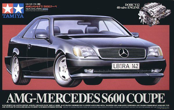 TAMIYA 1/24 Mercedes-Benz AMG S600 Coupe # 89764