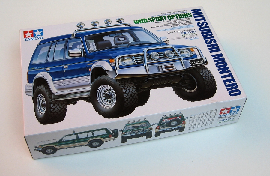 Tamiya 1\24 Mitsubishi Montero with sport options # 24124