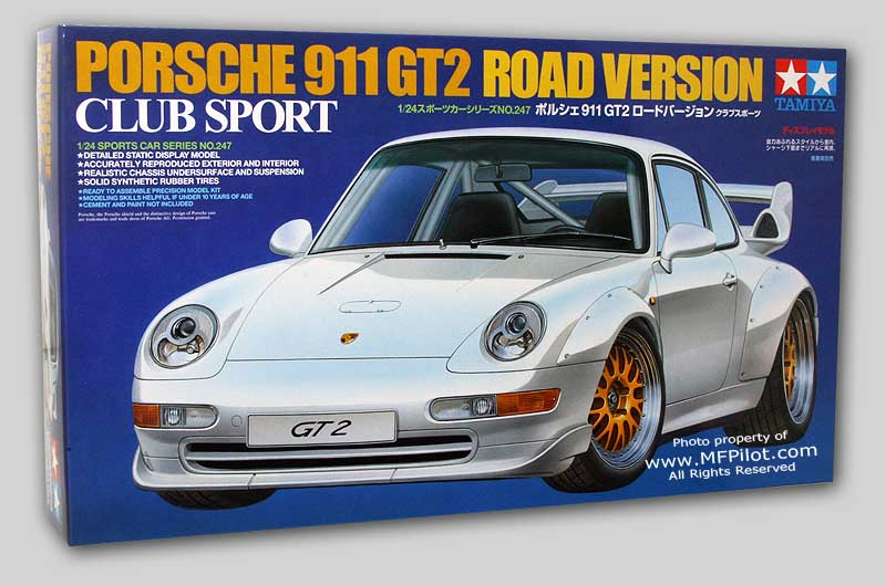 Tamiya 1/24 Porsche 911 GT2 Club Sport Road Version # 24247