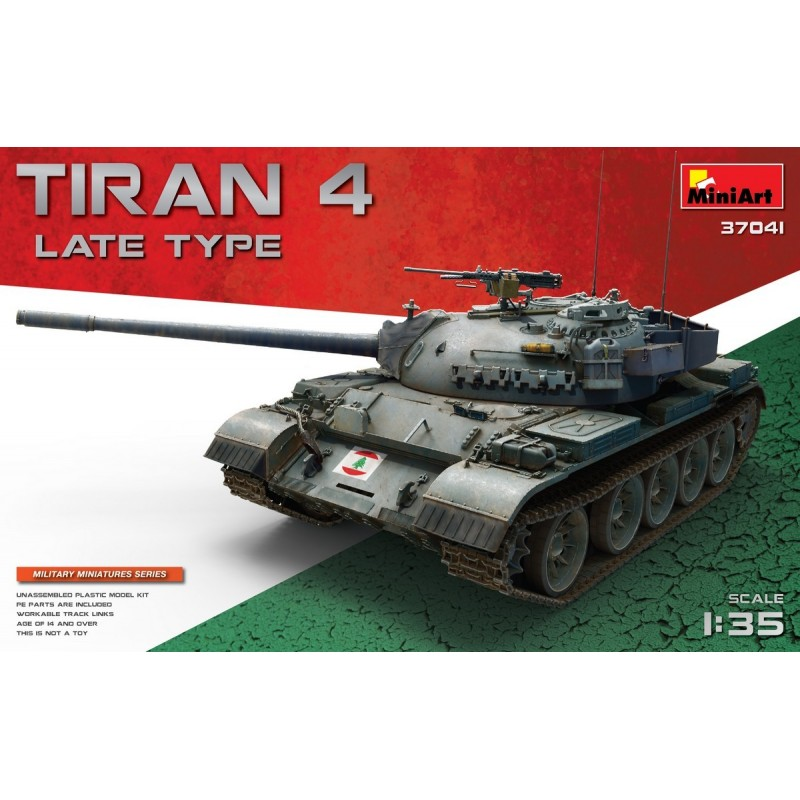 MiniArt 1/35 TIRAN 4 LATE TYPE # 37041