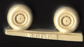 True Details 1/48 SM-79 Sparviero Wheel Set # 48082