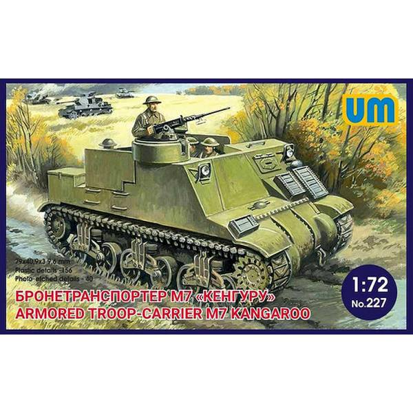 UM 1/72 Armored troop-carrier M-7 Kangaroo # 227