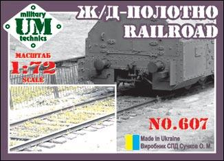 UMT 1/72 Railroad # 607
