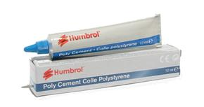 Humbrol Poly Cement / Glue Tube 12ml